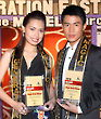 Justine Gonzales and Alfie Espartero